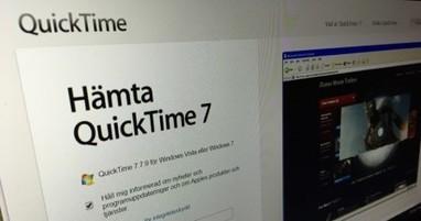 Experter: Avinstallera QuickTime från Windows omedelbart | TkJ.se | DIGITALAKUTEN FÖR SENIOR | Scoop.it