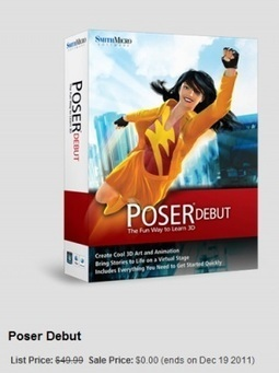 Poser Debut is free today, maybe | Machinimania | Scoop.it
