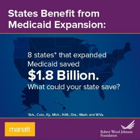 States Benefit from Medicaid Expansion | Medicaid Reform for Patients and Doctors | Scoop.it