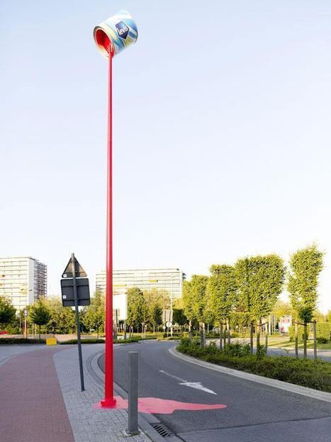 Excellent street marketing pour une marque de peinture | streetmarketing | Scoop.it