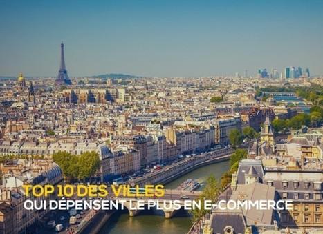 E-commerce : Les 10 villes françaises où les dépenses sont les plus fortes ! | Actualité de l'E-COMMERCE et du M-COMMERCE | Scoop.it