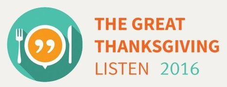 "StoryCorps Kicks-Off ""Great Thanksgiving Listen"" Again 