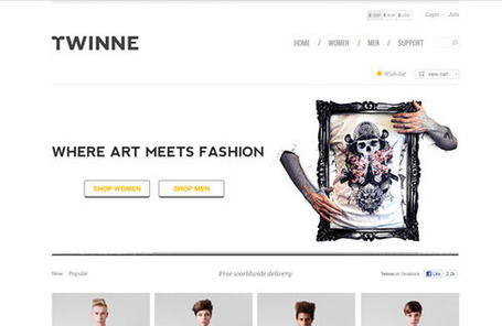 5 sites e-commerce pour votre inspiration – #8 | WebdesignerTrends - Ressources utiles pour le webdesign, actus du web, sélection de sites et de tutoriels | Tips & Web Design | Scoop.it