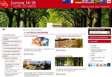 14-18  : 1er numéro la newsletter consacrée au Centenaire de la premiere guerre mondiale dans la Somme | Nos Racines | Scoop.it
