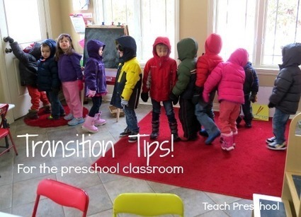 Ten tips to dealing with those troubling transitions | Kindergarten | Scoop.it