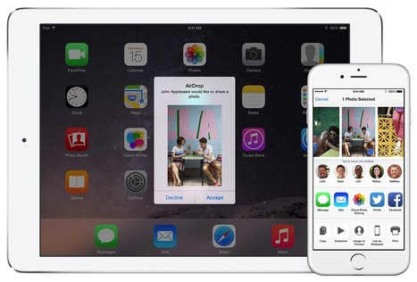 Share content with AirDrop from your iPhone, iPad, or iPod touch - Apple Support | Biology Education and Technology | Scoop.it