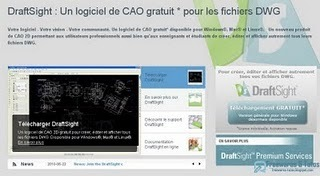 DraftSight : un logiciel gratuit de CAO 2D | Time to Learn | Scoop.it