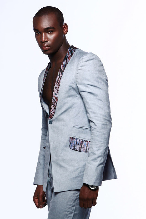 sneak peek: ohema ohene menswear 2013 s/s collection - Ciaafrique | African fashion and beauty | Scoop.it