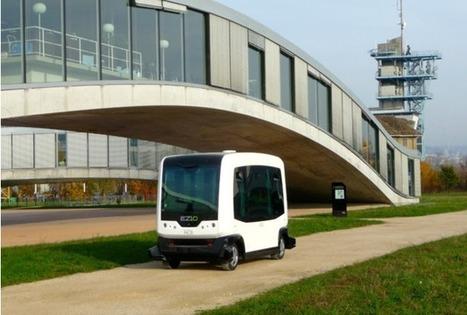 Le véhicule du futur sans chauffeur prend la direction du centre-ville de Toulouse | innovation | Scoop.it
