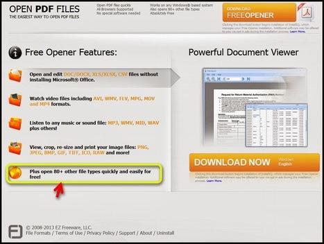 Free Opener ouvrir plus de 80 formats de fichiers sans nstaller ou presque de logiciels | e-news | Scoop.it