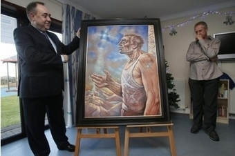 Peter Howson's painting of the fourth wise man features in FM's Xmas card | Culture Scotland | Scoop.it