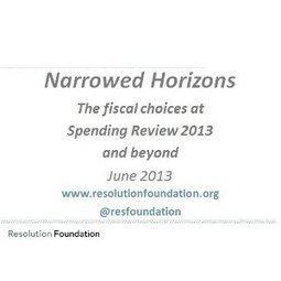 Resolution Foundation · Publications | The Politics of Public Spending | Scoop.it