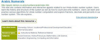 #CCSS and Educational Technology: National Science Digital Library - Great Math Resource | science education11 | Scoop.it
