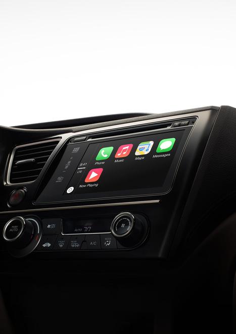 Apple launches CarPlay | Mobilité & Géolocalisation | Scoop.it
