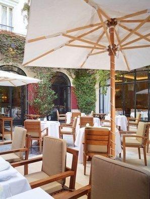 Le jardin de la Table du Lancaster | Epicure : Vins, gastronomie et belles choses | Scoop.it