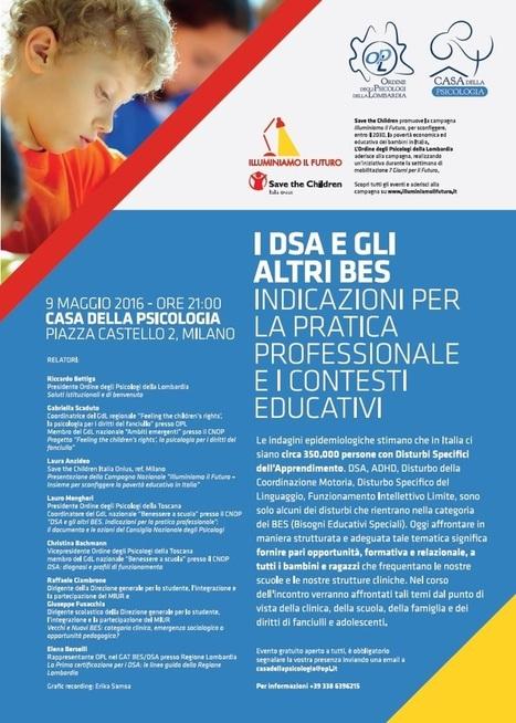 Lunedì a Milano incontro alla Casa della Psicologia in Piazza Castello | Dislessia e Tecnologia | Scoop.it