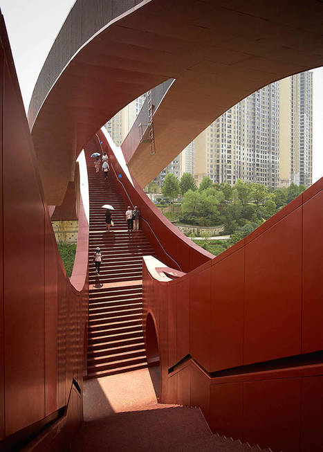 Playful Architectural Bridge in China | Landart, art environnemental | Scoop.it
