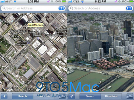 Apple To Drop Google, Provide Own Map Data In iOS 6 | From the Apple Orchard | Scoop.it