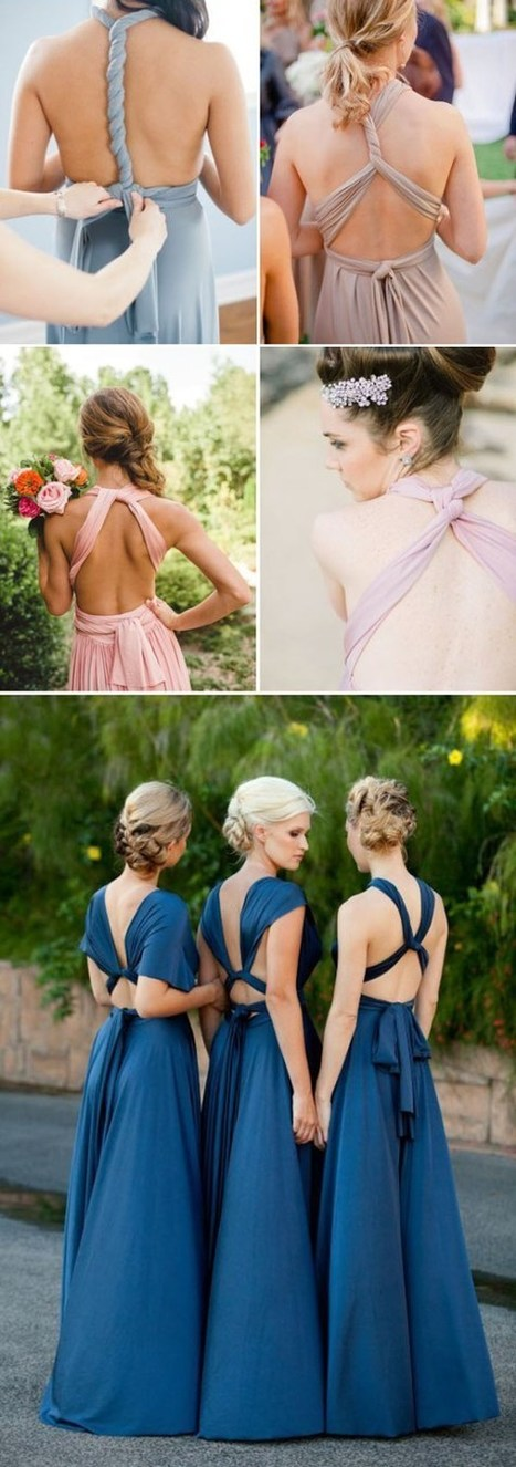 Top 8 non-traditional bridesmaid dresses trends you will love | dressesfashion | Scoop.it