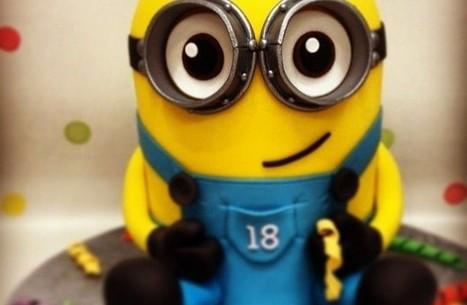 Les 12 plus beaux gâteaux dédiés aux Minions de Moi, Moche et Méchant | Trollface , meme et humour 2.0 | Scoop.it