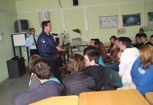 ΕΛ.ΑΣ.: Ενημερώνουν τους μαθητές για Ναρκωτικά, βία και εκφοβισμό - OnAir24.gr   Σχολικός Εκφοβισμός   Scoop.it