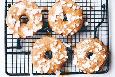 Vegan Lemon Lavender Donuts - Dr. Axe | Vegan Food | Scoop.it