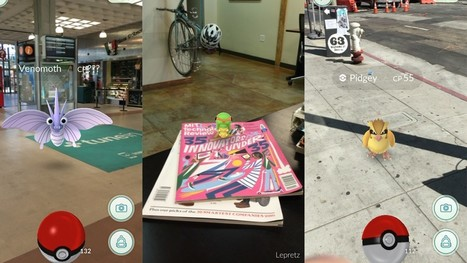 Review: Pokémon Go isn't just a game, it's a game-changer for augmented reality | Entrepreneurship, Innovation | Scoop.it