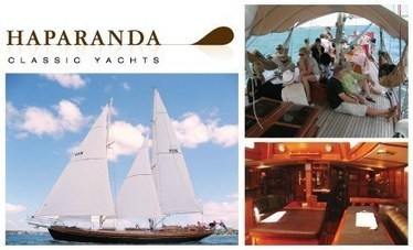 $49 for a 2 hour cruise on luxury schooner 'HAPARANDA' around Waitemata Harbour with Endless Endeavours (value $110) | Haparanda Classic Yachts | Scoop.it