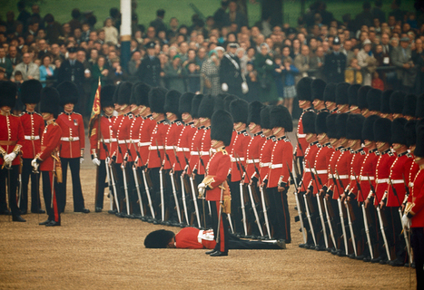 Irish Guards remain at attention after one guardsman faints in... | Interesting Photos | Scoop.it