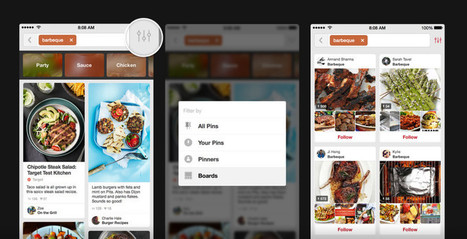 Pinterest Streamlines & Simplifies Its Search Interface via @MarketingHits | AtDotCom Social media | Scoop.it