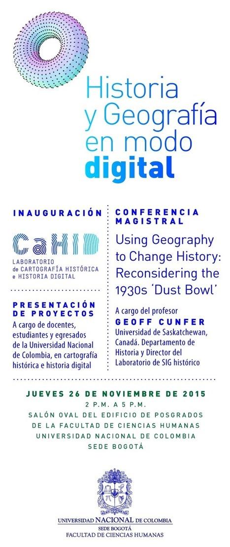 Evento: Historia y Geografía en modo digital   Humanidades digitales   Scoop.it