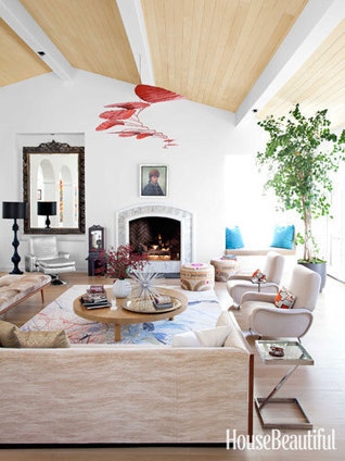 A Malibu Home With Electric Color | Interior Design | Scoop.it