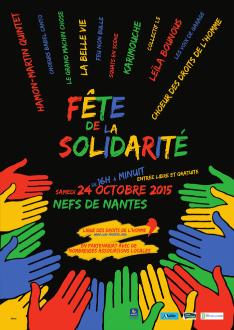 Ligue des Droits de l'Homme - Section de Nantes et du pays nantais » Tous, le 24 octobre, sous les Nefs à la Fête de la solidarité | Economie sociale et solidaire à Nantes | Scoop.it