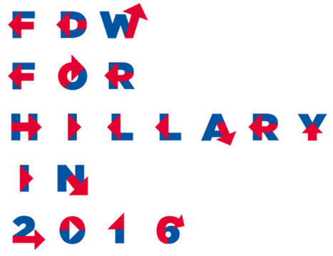 Create your own Hillary Clinton slogan, using her 'H' typeface! | Washington Post |04/14/15 | FDW's Daily Scoops | Scoop.it