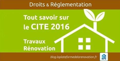 CITE 2016 projet loi de finance Crédit d'Impôt | Transformation digitale du BTP | Scoop.it