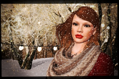 snow is falling ... | Second Life Sawa's Style | Scoop.it