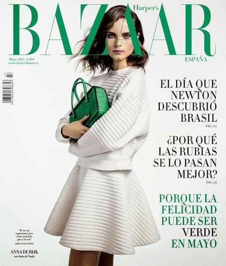 Anna de Rijk Covers Harper's Bazaar Magazine - Magazines Cover Girl | Magazines Cover Girl | Scoop.it