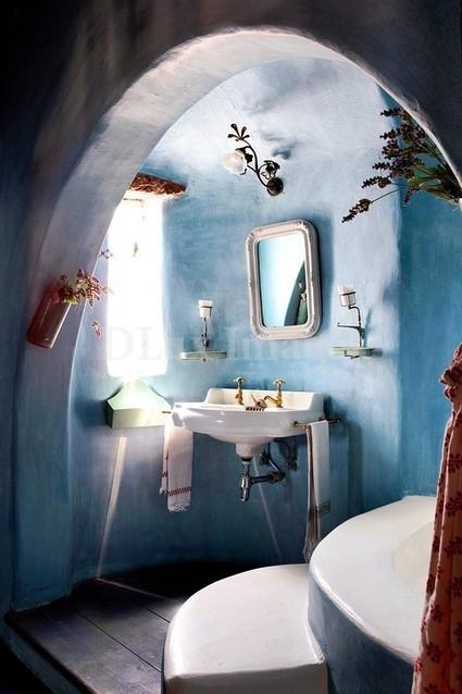67 Cool Blue Bathroom Design Ideas | Interesting and Fascinating | Scoop.it