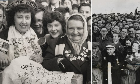 Football's glory days: Beautiful archive photographs capture life on the terraces from the 1930s through to the swinging sixties | What's new in Visual Communication? | Scoop.it