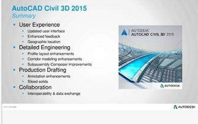 AutoCAD Civil 3D 2015 – First Thoughts - Blog - CADline Community | Cadline Community | Scoop.it