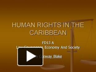 HUMAN RIGHTS IN THE CARIBBEAN | Human Rights | Scoop.it