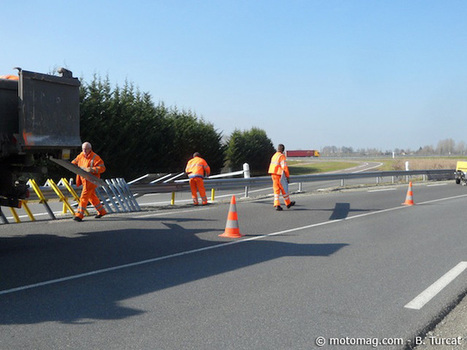 Nièvre et rails de sécurité : le Conseil général protège les motards | La moto au quotidien | Scoop.it