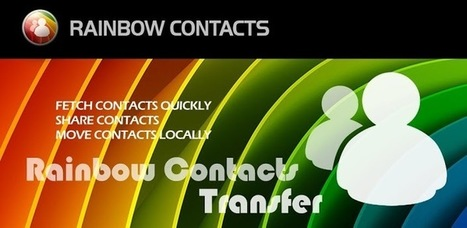 Rainbow Contacts - Android Apps on Google Play | MyPhone E-Mag | Scoop.it