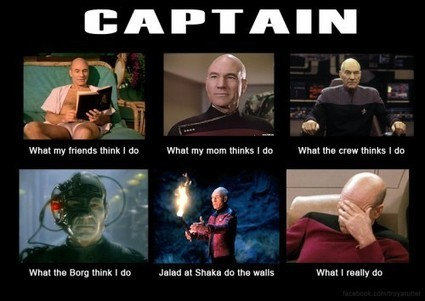 Captain Picard | What I really do | Scoop.it