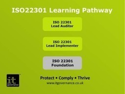 ISO22301 professional certifications – great for career continuity planning | Business Continuity & ISO 22301 | Scoop.it