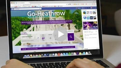 L'aéroport d'Heathrow propose de réserver un vol directement sur Facebook | E-tourisme et communication | Scoop.it