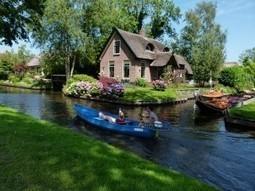 Giethoorn : des maisons les pieds dans l'eau - Blog Pikadom | Immobilier en France | Scoop.it