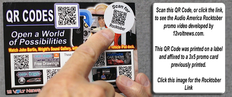 QR Codes… a World of Possibilities | 12 Volt News | Mobile - Mobile Marketing | Scoop.it