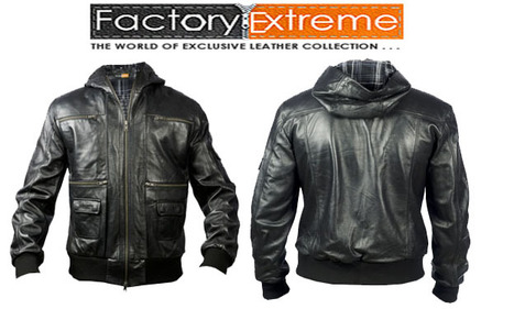 Buy Black Leather Jackets, the Popular Choice from | FactoryExtreme | Scoop.it
