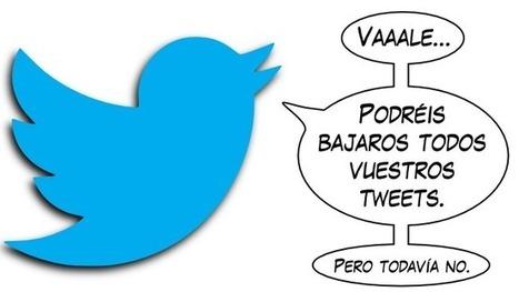 Twitter trabaja en una herramienta para exportar todos nuestros tweets   MEDIA´TICS   Scoop.it